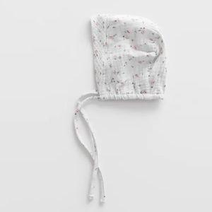 NWT 1-6 month Zara floral bonnet